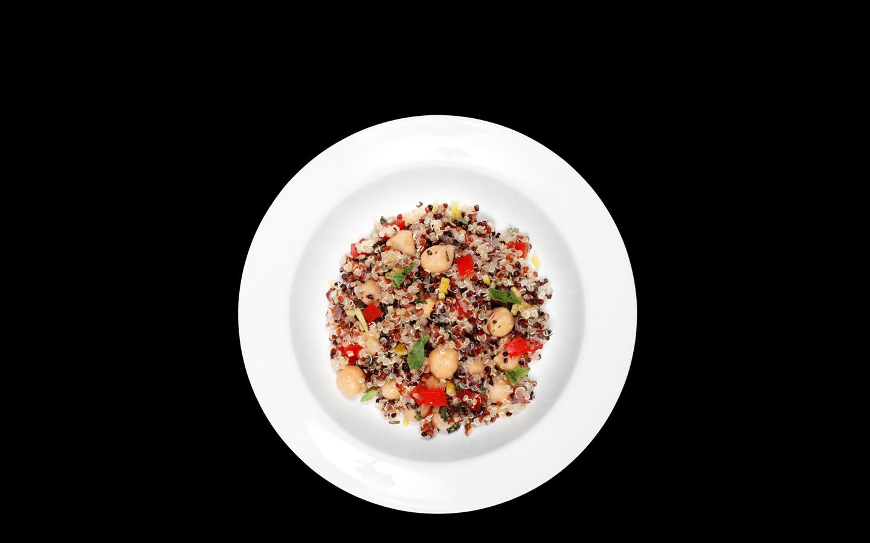 Quinoa tricolore al limone