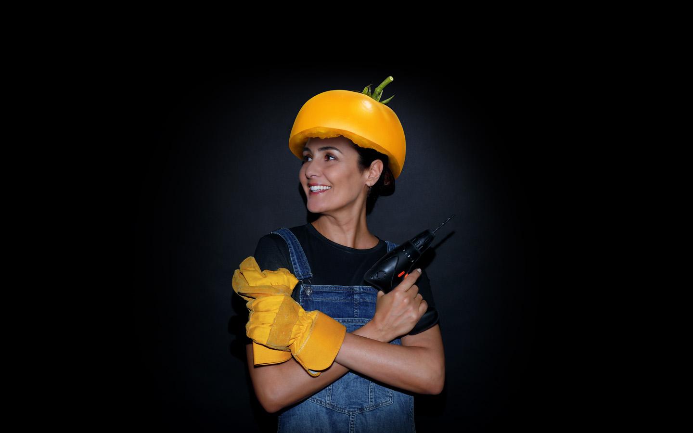 Linguine con datterini gialli e burrata al profumo di limone